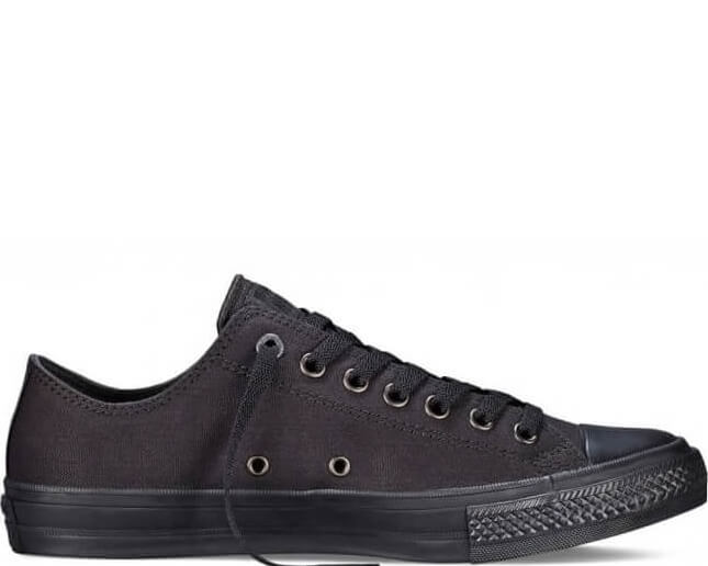 "Кеды Converse Chuck Taylor All Star II OX ""Black/Black"""