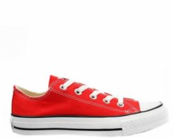 "Кеды Converse Chuck Taylor All Star Low ""Red/White"""