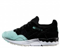 "Кроссовки Asics Gel Lyte V Suede Toe Pack ""Black/Mint"""