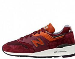 "Кроссовки New Balance M997DSLR Distinct Retro Ski ""Purple Heather/Cathay Spice"""