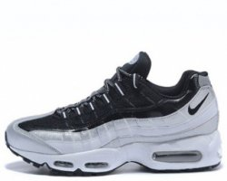 "Кроссовки Nike Air Max 95 ""White/Black/Grey"""