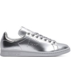 "Кроссовки Raf Simons x Adidas Stan Smith ""Metallic Silver"""