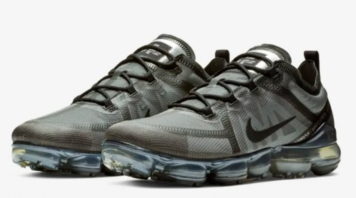 "Кроссовки Nike Air VaporMax 2019 ""Black/Grey"" 4"