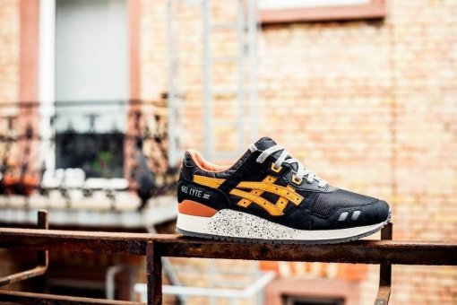 "Кроссовки Asics Gel Lyte III ""Black/Brown"" 6"