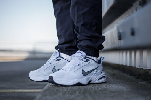"Кроссовки Nike Air Monarch IV ""Silver White"" 9"