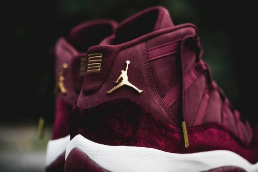 "Кроссовки Nike Air Jordan 11 Retro ""Heiress"" Bordo 4"